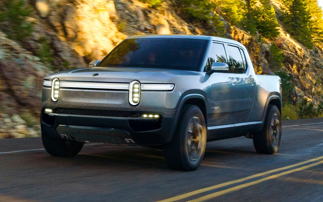 Rivian R1T electric pick-up truck